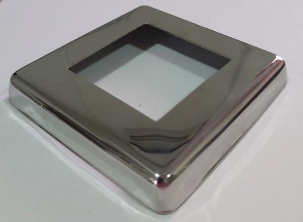 Canopla Quadrada Inox 304 - 51x51mm